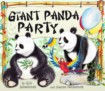 Cover for The Giant Panda Party by Gill Arbuthnott