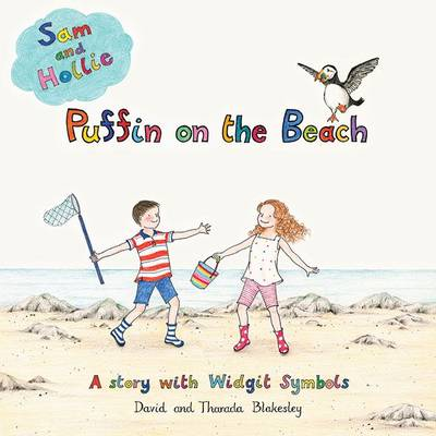 Puffin on the Beach A Story with Widgit Symbols by David Blakesley