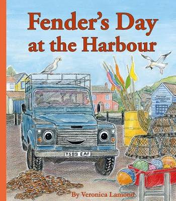 Fender's Day at the Harbour by Veronica Lamond