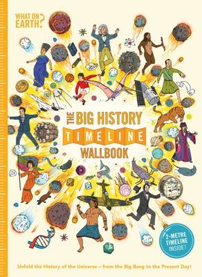 Cover for The Big History Timeline Wallbook by Christopher Lloyd