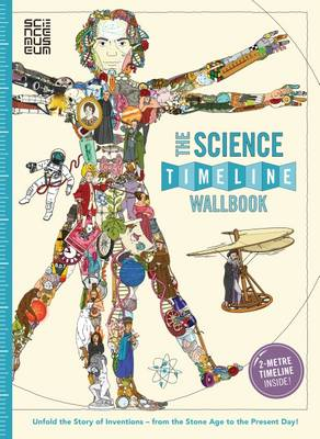 Cover for The Science Timeline Wallbook by Christopher Lloyd, Patrick Skipworth