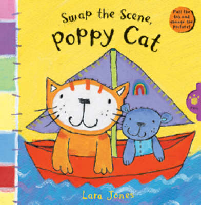 Swap the Scene, Poppy Cat by Lara Jones