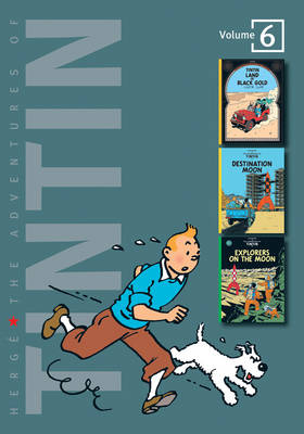 The Adventures of Tintin: Vol 6  by Herge