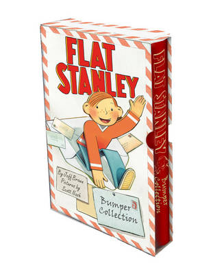Cover for Flat Stanley Bumper Collection by Jeff Brown