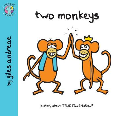 Two Monkeys (World of Happy) by Giles Andreae