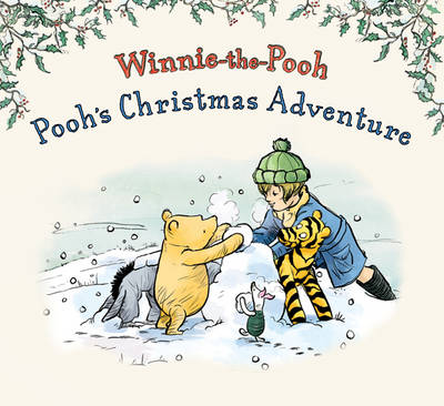 Winnie-the-Pooh's Christmas Adventure Winter Story Book by Andrew Grey
