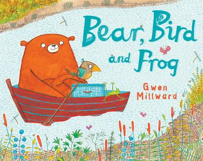 Bear, Bird and Frog by Gwen Millward