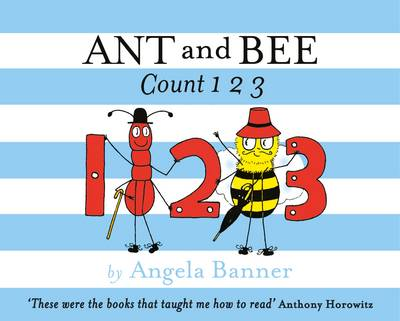 Cover for Ant and Bee Count 123 by Angela Banner