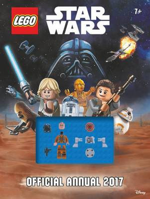 Cover for The Official LEGO Star Wars Annual 2017 by Egmont UK Ltd