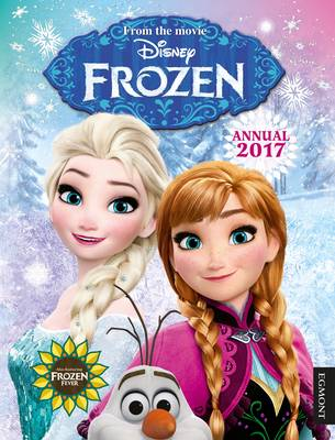 Cover for Disney Frozen Annual 2017 by Egmont UK Ltd