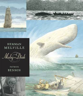 Moby Dick - Illustrated Edition by Herman Melville