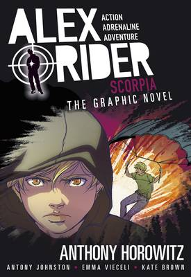 Scorpia The Graphic Novel by Anthony Horowitz, Antony Johnston