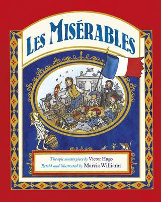 Cover for Les Miserables by Marcia Williams