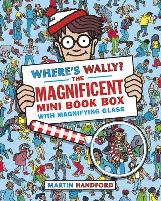 Where's Wally? The Magnificent Mini Book Box - 5 Books & Magnifying Glass by Martin Handford