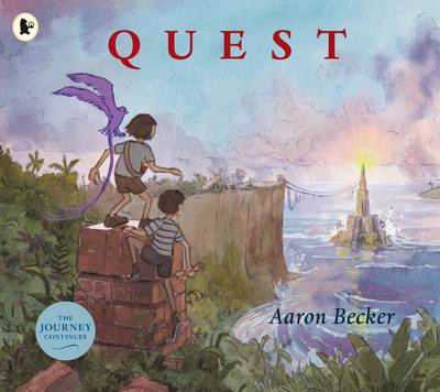 Cover for Quest by Aaron Becker