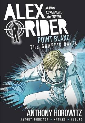 Cover for Point Blanc Graphic Novel by Anthony Horowitz, Antony Johnston