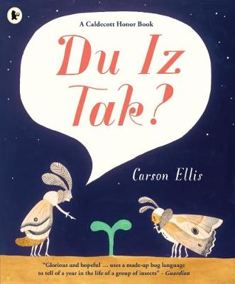 Cover for Du Iz Tak? by Carson Ellis