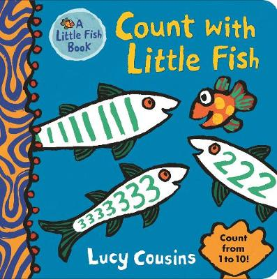 Cover for Count with Little Fish by Lucy Cousins