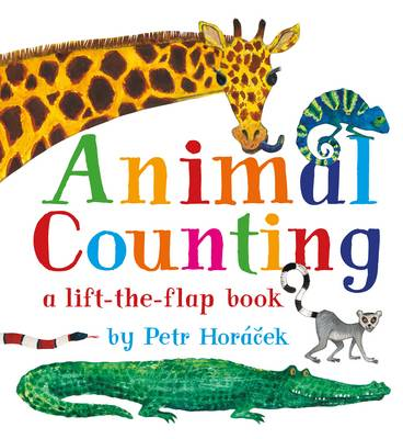 Cover for Animal Counting by Petr Horacek