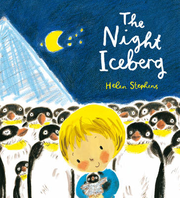 Cover for The Night Iceberg by Helen Stephens