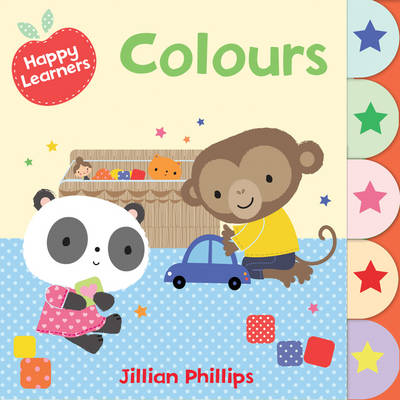 Happy Learners : Colours by Jillian Phillips