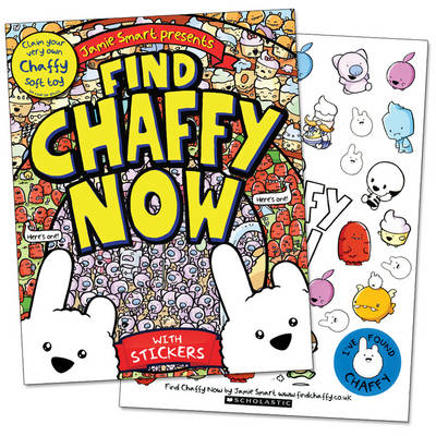 Cover for Find Chaffy Now by Jamie Smart