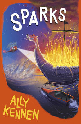 Cover for Sparks by Ally Kennen