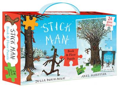 Stick Man Book & Floor Puzzle Gift Set by Julia Donaldson