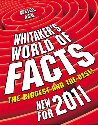 Whitaker's World Of Facts 2009 by Russell Ash
