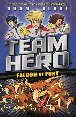 Cover for Team Hero: Falcon of Fury Series 2, Book 3 by Adam Blade