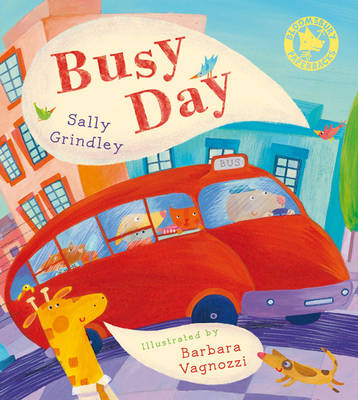 Cover for Busy Day by Sally Grindley