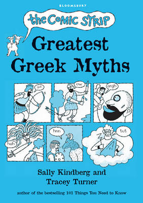 Cover for The Comic Strip Greatest Greek Myths by Tracey Turner