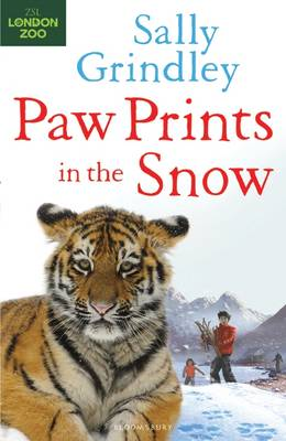 Paw Prints in the Snow by Sally Grindley
