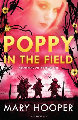 Cover for Poppy in the Field by Mary Hooper