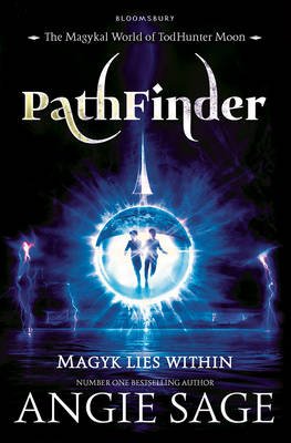 Cover for Pathfinder A Todhunter Moon Adventure by Angie Sage