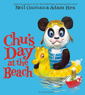 Cover for Chu's Day at the Beach by Neil Gaiman