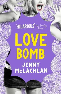 Cover for Love Bomb by Jenny McLachlan