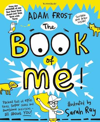 Cover for The Book of Me by Adam Frost