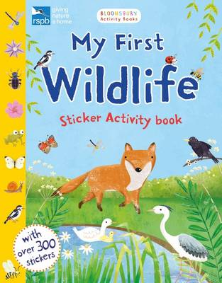 RSPB My First Wildlife Sticker Activity Book by