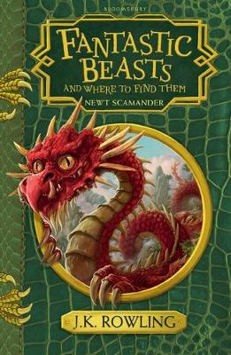 Fantastic Beasts and Where to Find Them Hogwarts Library Book by J. K. Rowling