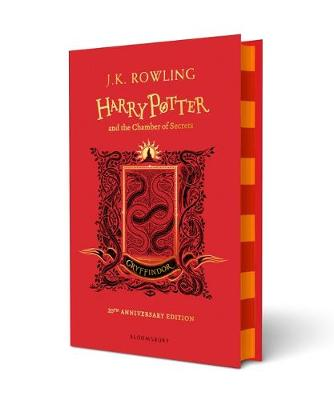 Cover for Harry Potter and the Chamber of Secrets - Gryffindor Edition by J. K. Rowling
