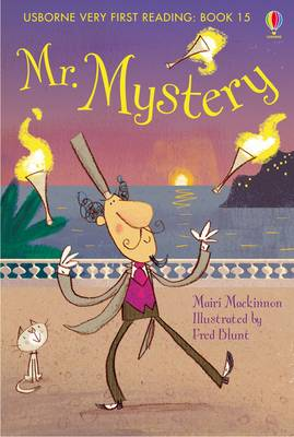 Usborne Very First Reading 15: Mr Mystery by Mairi Mackinnon