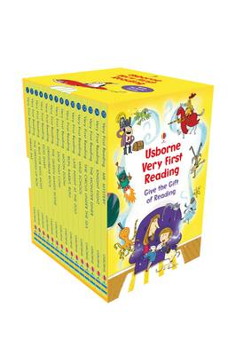 Usborne Very First Reading Slipcase with Parents Notes by