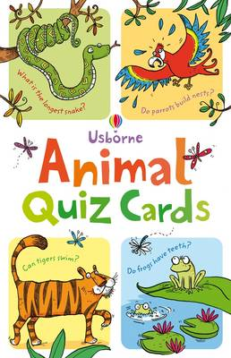 Animal Quiz Cards  by Simon Tudhope