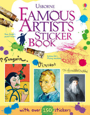 Famous Artists Sticker Book by Megan Cullis