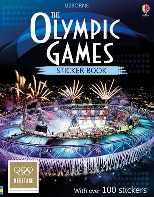 The Olympic Games Sticker Book by Susan Meredith
