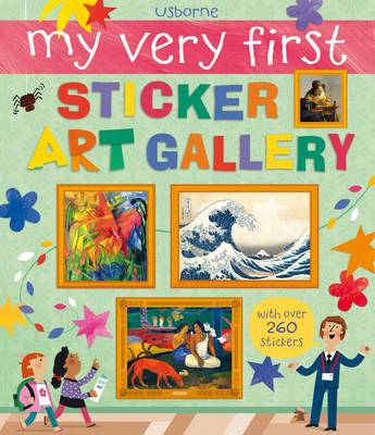 My Very First Sticker Art Gallery by Sam Lake