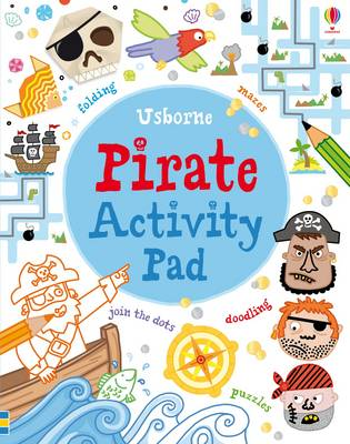 Cover for Pirate Activity Pad by Phillip Clarke