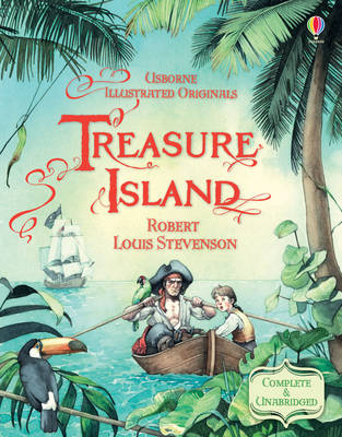 Cover for Treasure Island by Robert Louis Stevenson