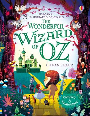 Cover for The Wonderful Wizard of Oz by L. Frank Baum